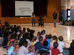 Whole School Morning Meeting- Buddy Bench Introduction